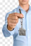 Сlipart House Real Estate Key Giving Human Hand photo cut out BillionPhotos