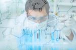 Сlipart chemistry chemist adult biotechnology analysis   BillionPhotos
