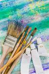 Сlipart brush art painting knife paint brush white photo  BillionPhotos