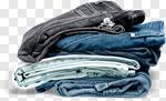 Сlipart Jeans Clothing Stack Denim Garment photo cut out BillionPhotos