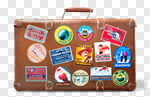 Сlipart travel label old case tokyo photo cut out BillionPhotos