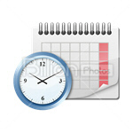 Сlipart Calendar Day Calendar Date Month Reminder vector icon cut out BillionPhotos