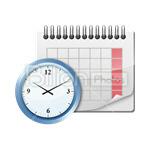 Сlipart Calendar Day Calendar Date Month Reminder vector icon cut out BillionPhotos