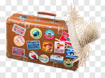 Сlipart Travel Suitcase Label Bag Luggage photo cut out BillionPhotos