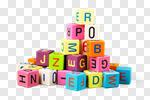 Сlipart toy block alphabet letters wooden photo cut out BillionPhotos