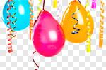 Сlipart Balloon Celebration Anniversary Streamer Party photo cut out BillionPhotos