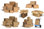 Сlipart Cardboard Packages Box Moving House Moving Office Package   BillionPhotos