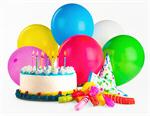 Сlipart Birthday Birthday Cake Cake Balloon Party photo  BillionPhotos