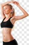 Сlipart Exercising Women Sport Body Muscular Build photo cut out BillionPhotos