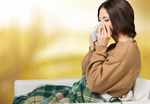 Сlipart flu cold woman cough bed   BillionPhotos