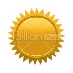 Сlipart label stamp zigzag circle emblem vector icon cut out BillionPhotos