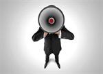 Сlipart Megaphone Using Voice Advertisement Bullhorn Public Speaker   BillionPhotos