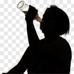 Сlipart alcoholism alcohol alcoholic vodka problem photo cut out BillionPhotos