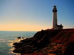 Сlipart Lighthouse Sunset Sea Canada Beach photo  BillionPhotos