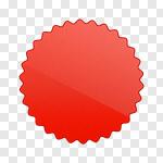 Сlipart Label Badge Shiny Sticky star shape vector cut out BillionPhotos