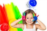Сlipart hands painted child color colorful preschooler   BillionPhotos