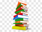Сlipart Book Stack Learning Education Multi Colored 3d cut out BillionPhotos