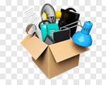 Сlipart Moving House Box Moving Office Merchandise House 3d cut out BillionPhotos