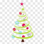 Сlipart Christmas Christmas Tree Tree Holiday Winter vector cut out BillionPhotos