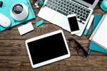 Сlipart tablet laptop desk phone network photo  BillionPhotos