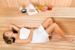 Сlipart Sauna Spa Treatment Health Spa Women Inside Of photo  BillionPhotos