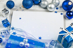 Сlipart Christmas Christmas Card Holiday Greeting Card Blue   BillionPhotos
