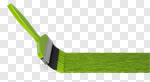 Сlipart Paint Paintbrush Green Painting Single Line 3d cut out BillionPhotos