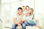 Сlipart happy family ethnicity shot studio young   BillionPhotos