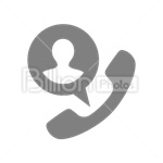 Сlipart support headset call call center phone vector icon cut out BillionPhotos