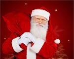 Сlipart Santa Claus Christmas Bag Sack Delivering   BillionPhotos