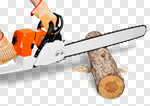 Сlipart Chainsaw Tree Cutting Lumberjack Lumber Industry photo cut out BillionPhotos