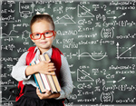 Сlipart Child learn kid backpack blackboard student   BillionPhotos