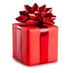 Сlipart Gift Christmas Box Red Christmas Present photo  BillionPhotos