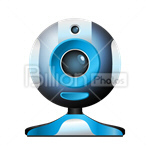 Сlipart Web camera webcam web cam Video Video conference vector icon cut out BillionPhotos