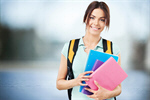 Сlipart studying student schoolbag preparation attractive sweet   BillionPhotos
