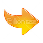 Сlipart Arrow Arrow Sign Right Interface Icons Moving Direction vector icon cut out BillionPhotos