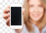 Сlipart phone hand holding cell smart photo cut out BillionPhotos
