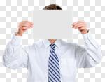 Сlipart Holding Sign Men Blank Asian Ethnicity photo cut out BillionPhotos