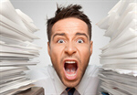 Сlipart Emotional Stress Exhaustion Document Paperwork Office   BillionPhotos