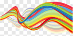 Сlipart Rainbow Swirl swish Backgrounds Multi Colored vector cut out BillionPhotos