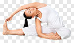 Сlipart Yoga Pilates Women Stretching Isolated photo cut out BillionPhotos
