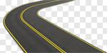 Сlipart Road Car Highway Street Long 3d cut out BillionPhotos