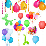 Сlipart Balloon Party Party Hat Confetti Celebration   BillionPhotos