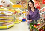 Сlipart Supermarket Shopping Groceries Nutrition Label Women   BillionPhotos
