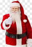 Сlipart Santa Claus Christmas Real People Cheerful Beard photo cut out BillionPhotos