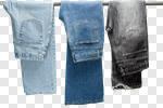 Сlipart Jeans Men Denim Hanging Clothing photo cut out BillionPhotos
