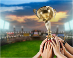 Сlipart Trophy Winning Success Sports Team Human Hand   BillionPhotos
