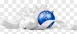 Сlipart xmas seasonal blue background white photo cut out BillionPhotos