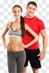 Сlipart fit fitness male workout young photo cut out BillionPhotos