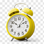 Сlipart clock alarm countdown timer midnight photo cut out BillionPhotos